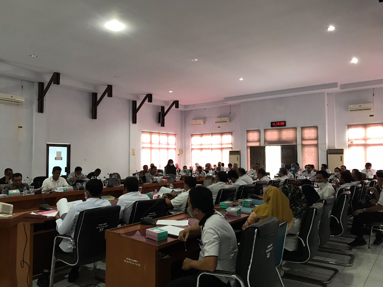Rapat Pembahasan RAPBD Perubahan TA. 2021 Kabupaten Luwu